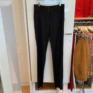 Stella McCartney Sz 40 black never worn slacks